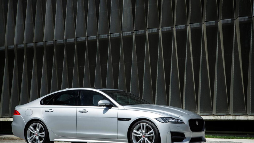 Jaguar XF starts at 32,300 GBP in the UK
