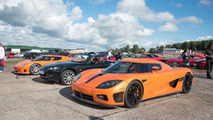 These are the cars Koenigsegg employees drive