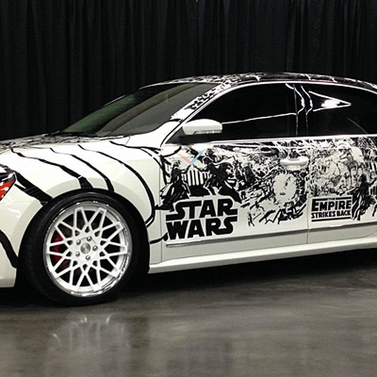 Star Wars Fans, Your Volkswagen Has Arrived