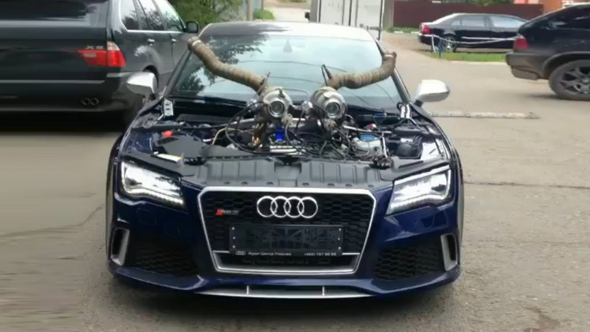 audi rs7 with 1 200 hp could tempt the devil. Black Bedroom Furniture Sets. Home Design Ideas