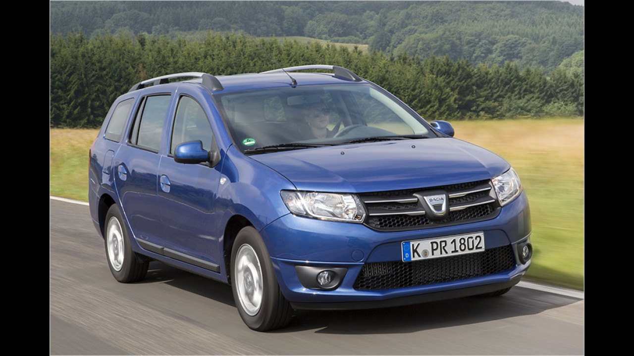 Der Sparsame: Dacia Logan MCV