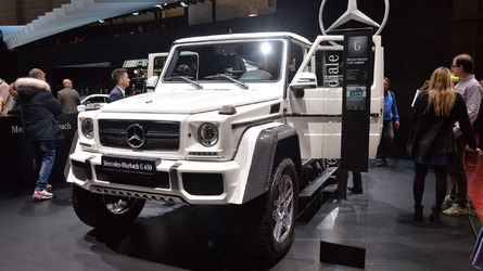 Mercedes-Maybach G650 Landaulet is an ostentatious G-Class send-off