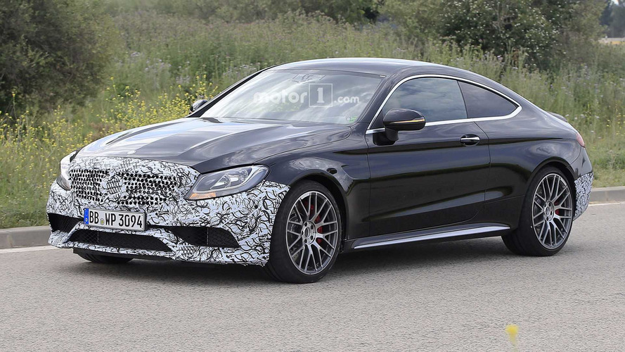 Mercedes-AMG C63 Coupe Spied Prepping For Refresh