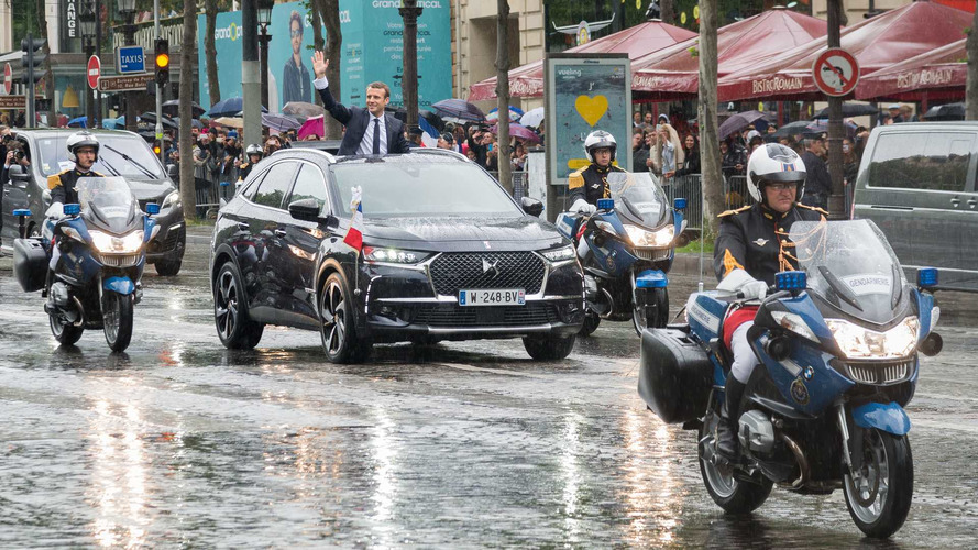DS 7 Revealed As France's New Presidential Ride