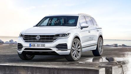 Néhány hónapon belül érkezik a következő-generációs Volkswagen Touareg