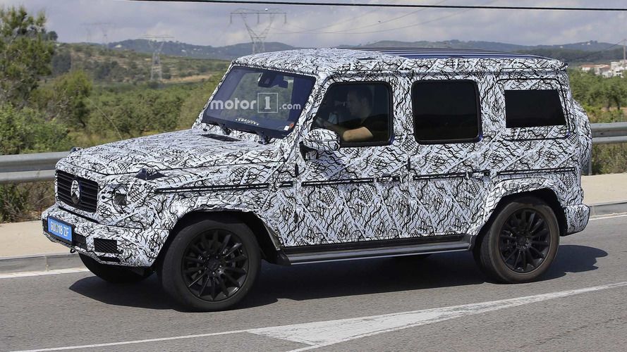 New Mercedes G-Class Confirmed With Independent Front Suspension