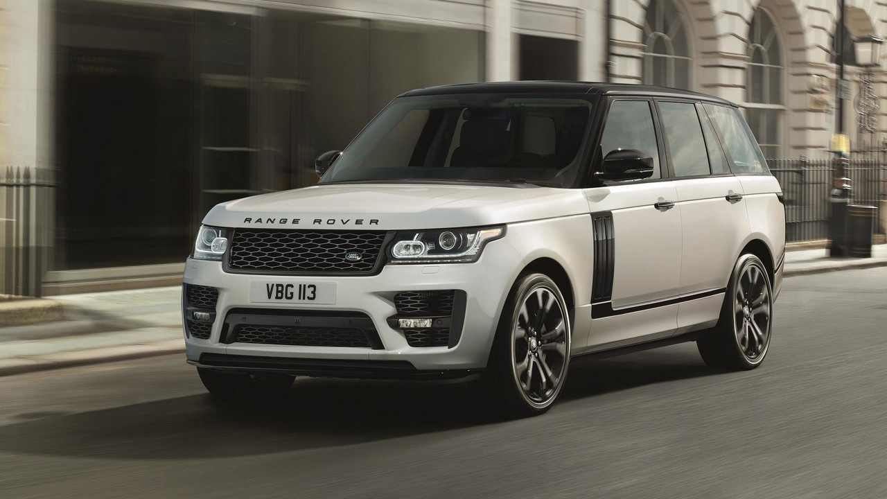 Range Rover with SVO Design Pack