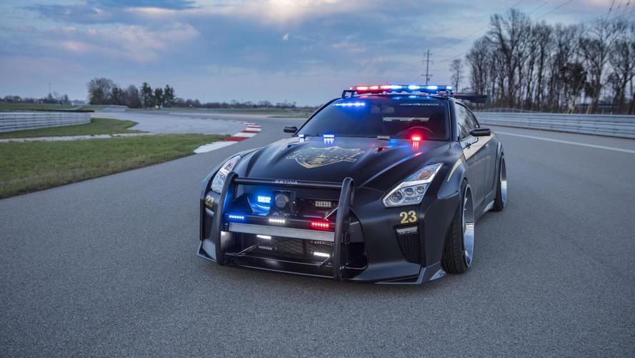 Nissan GT-R Police Pursuit 23, para patrullar los circuitos
