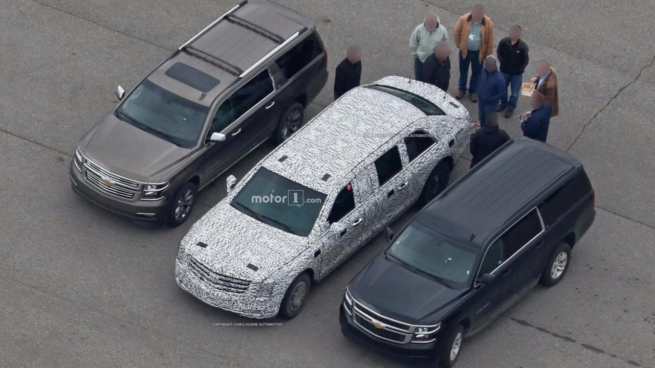 ABD Başkan'ı Trump'ın Cadillac Limuzini