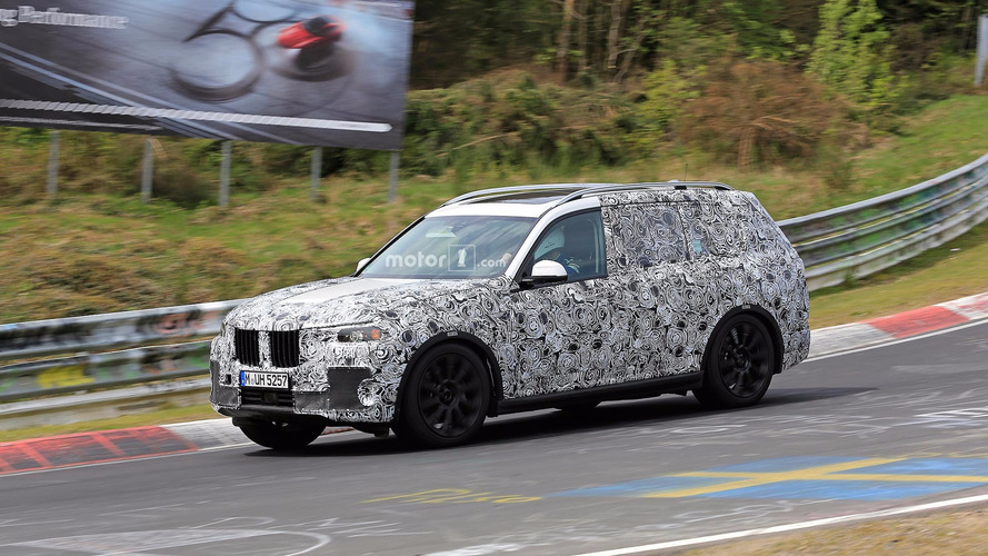 BMW X7 Concept Crossover To Be Unveiled At Frankfurt Motor Show