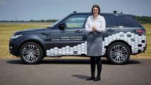 Land Rover Range Rover Sport autonomous prototype