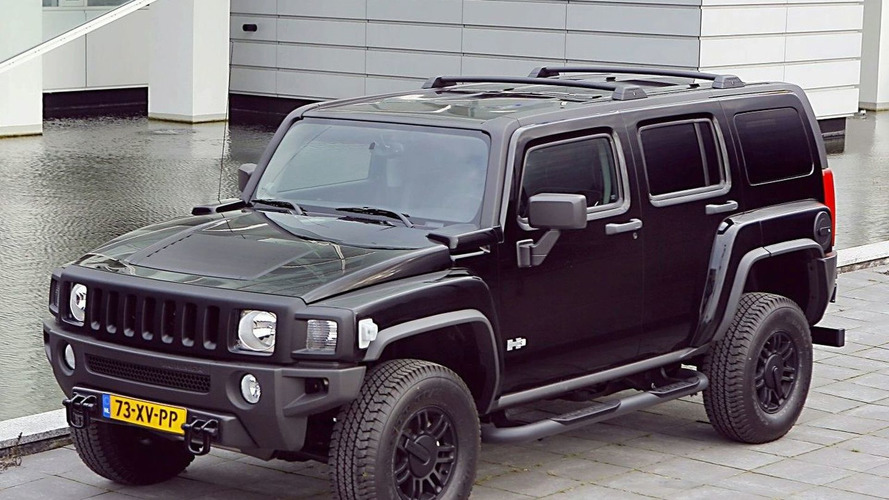 Hummer H3 Black Edition for Europe