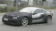 Mercedes SL Black Series Spy Photo