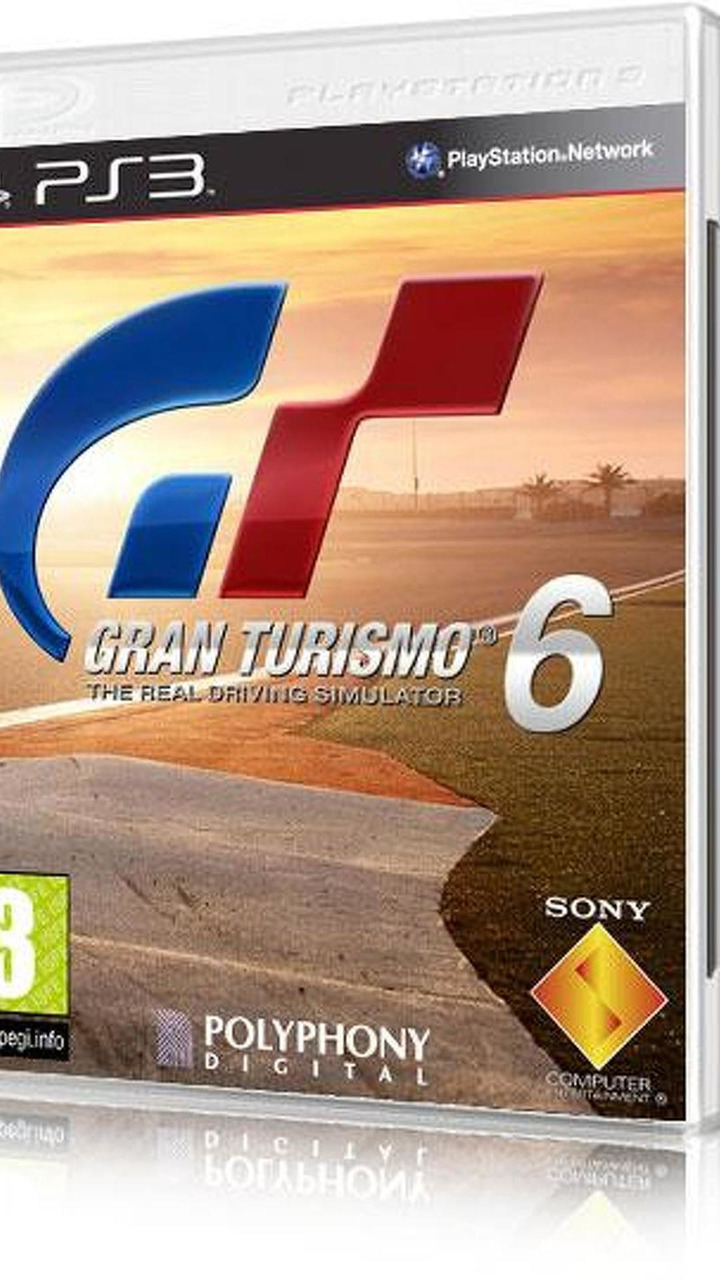 Possible Gran Turismo 6 box art