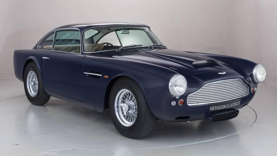 Une rare Aston Martin DB4 pré-production à vendre