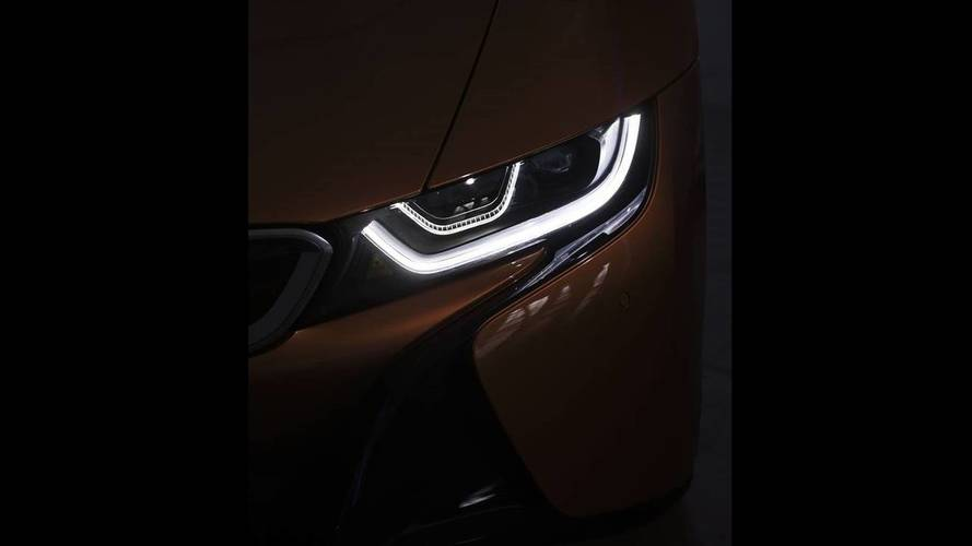 BMW i8 Roadster Teased One Last Time Ahead Of Tonight's Reveal