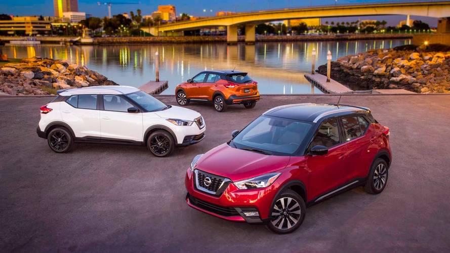 Nissan Kicks para os EUA tem sete airbags de série