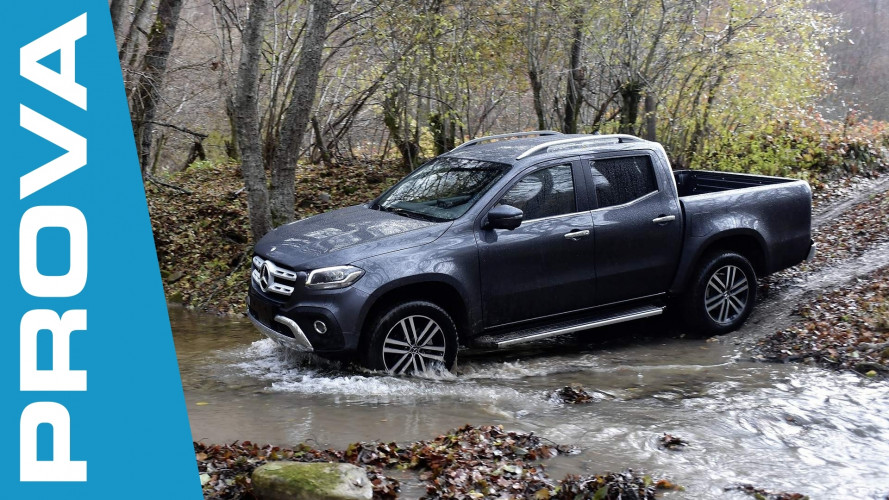 Mercedes Classe X, il lato premium del pick-up