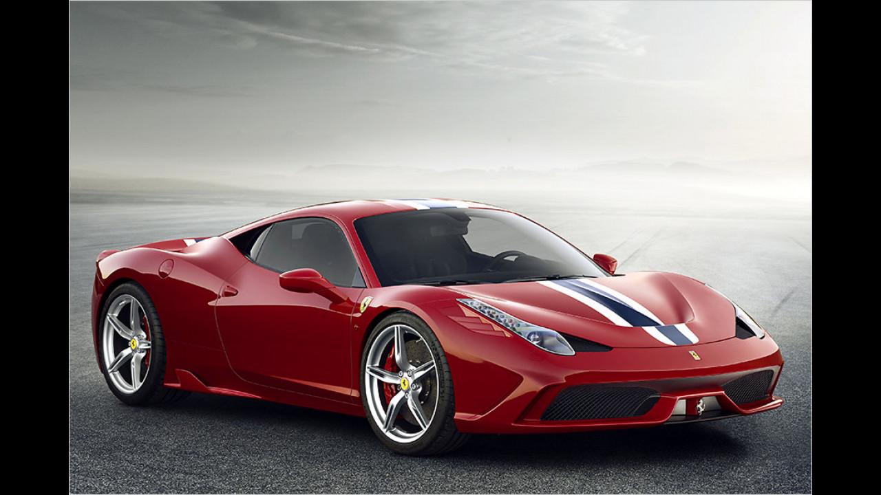 Ferrari 458 Turbo (ab März)
