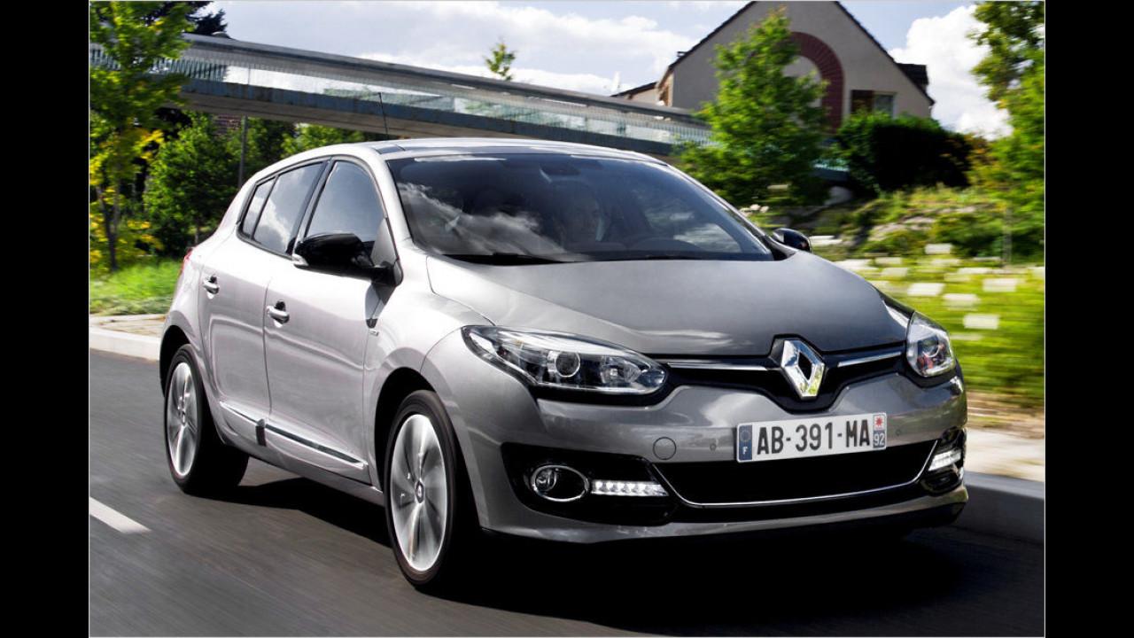 Renault Mégane Authentique 1.6 (110 PS): 27,2 Prozent