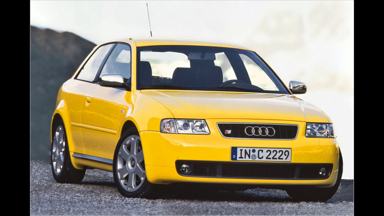 Platz 12: Audi S3 1.8T quattro