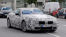 BMW 8 Series Spy Pics