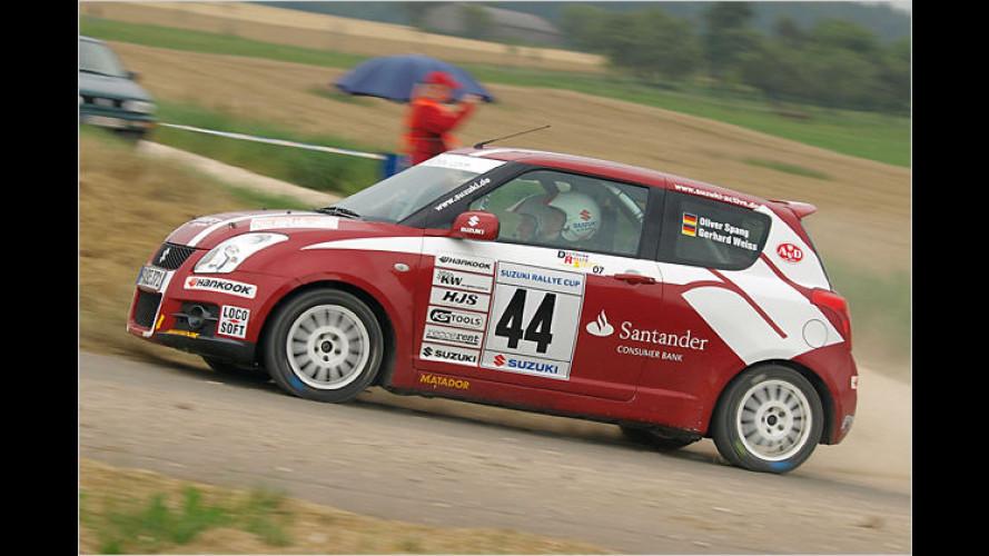Suzuki Rallye Cup: Mit bis zu 165 km/h über Stock und Stein