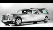 """Que tal realizar a """"última viagem"""" em um Rolls-Royce?"""