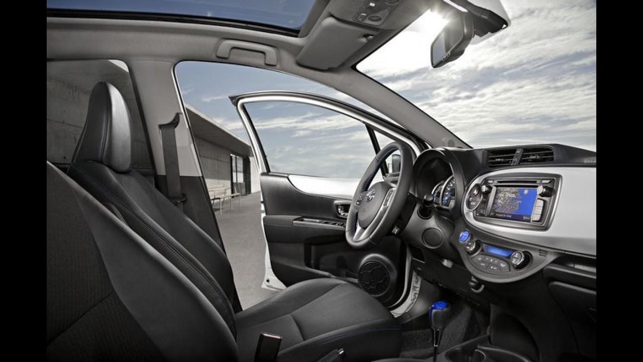 Híbrido: Toyota Yaris Hybrid é revelado