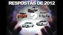 As respostas de 2012: veja quem começou e quem terminou na frente entre os automóveis