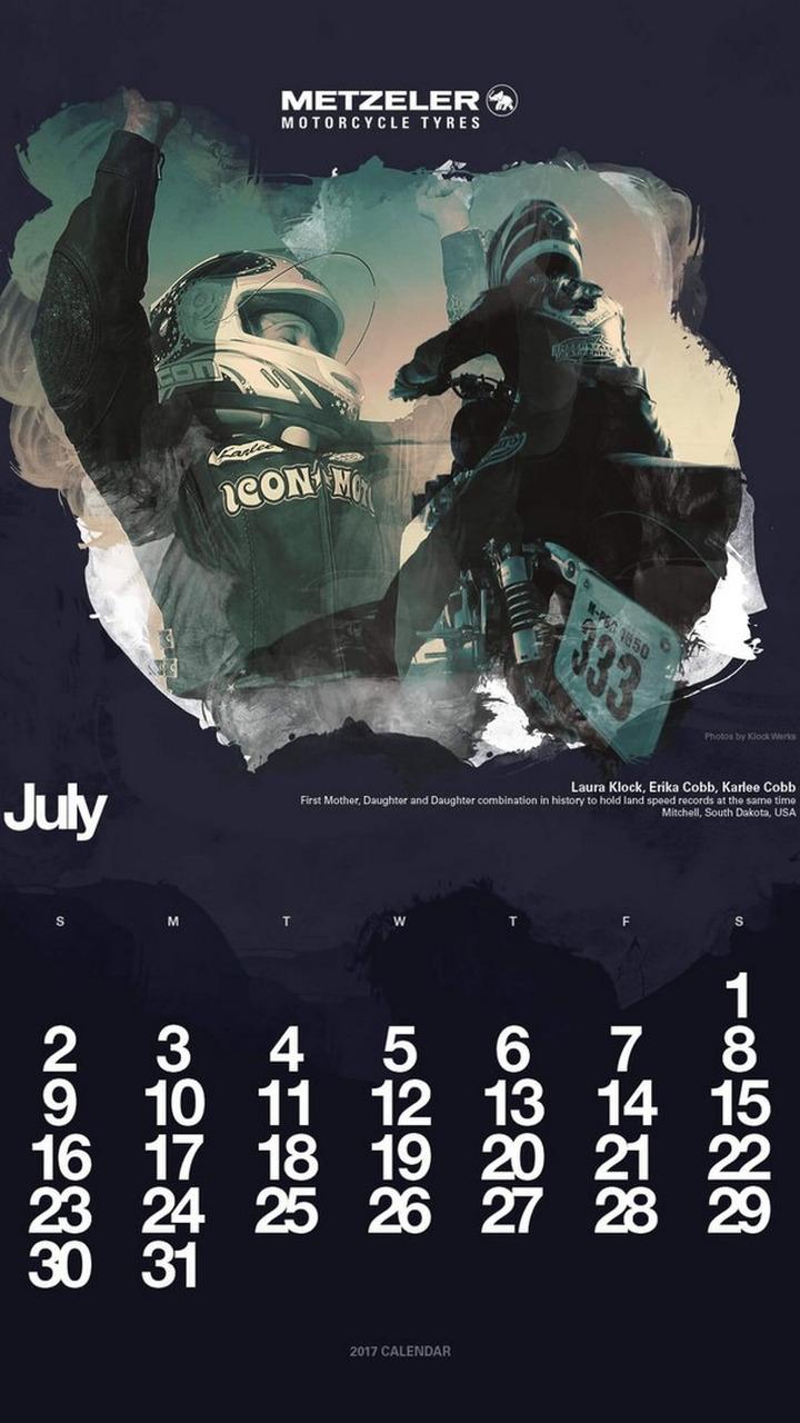 Calendário Metzeler 2017