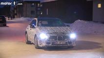Flagra - Mercedes Classe A em teste na neve