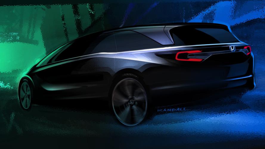 Honda Odyssey 2018 tem primero teaser divulgado