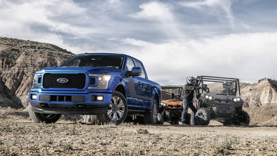Ford F-150 Claims Best-In-Class Gas Mileage, Towing Capacity