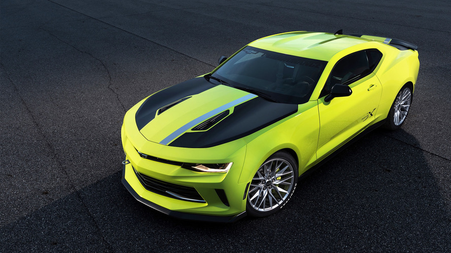 Chevy Camaro SEMA concept shows the turbo model's sporty side