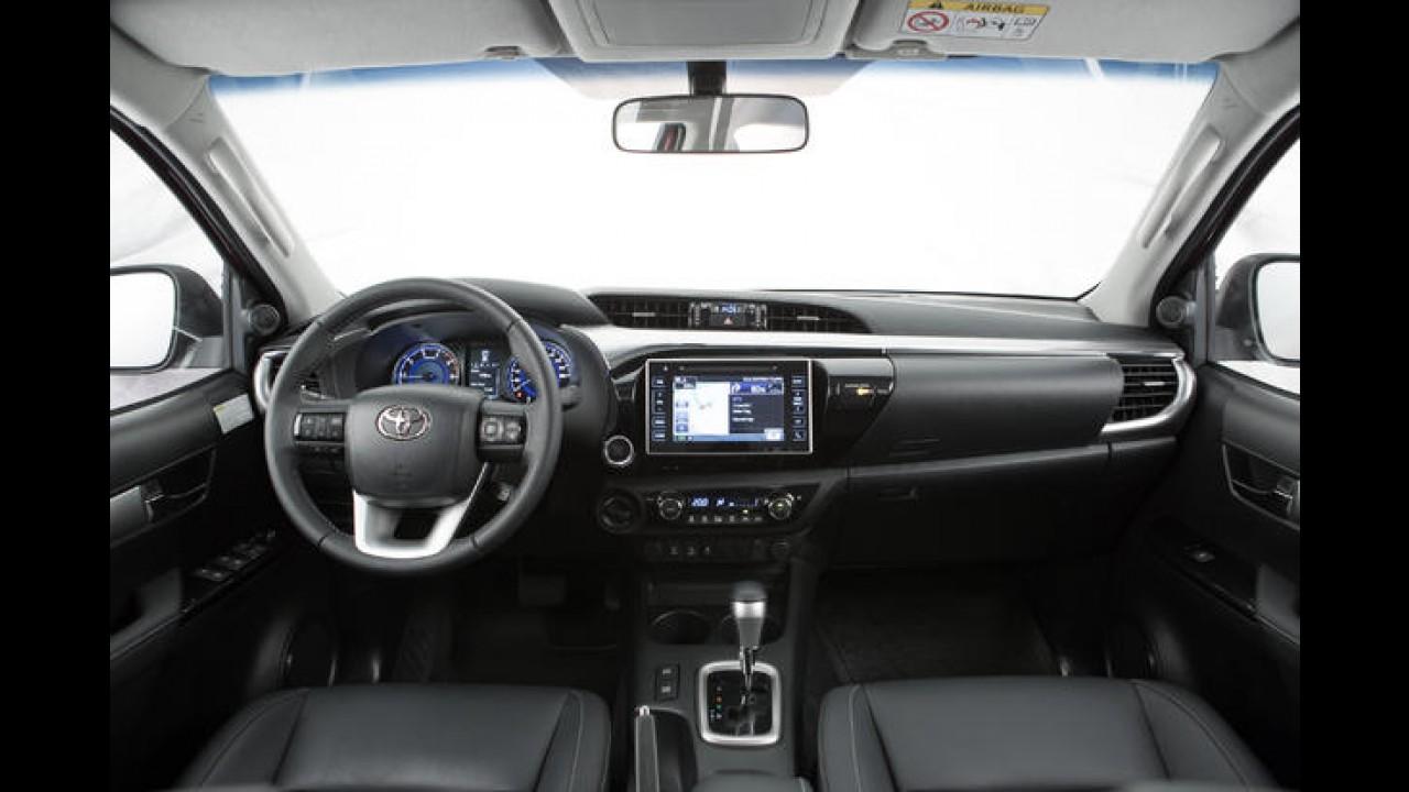 Nova Hilux pode originar picape de luxo da Lexus