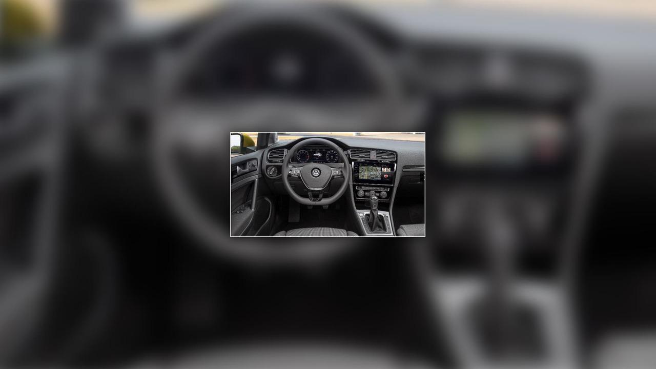 Yeniden tasarlanan VW Golf'ün fotoğrafları sızdı