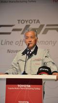 Toyota, Sakarya'da C-HR üretimine başladı