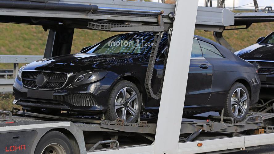 Mercedes Classe E Coupé 2017 Photos espion
