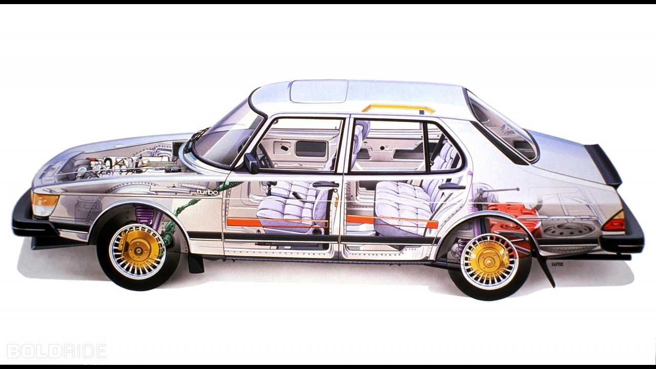 Saab 900 Turbo X-Ray