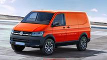 Volkswagen Transporter T6 rendering / X-Tomi Design