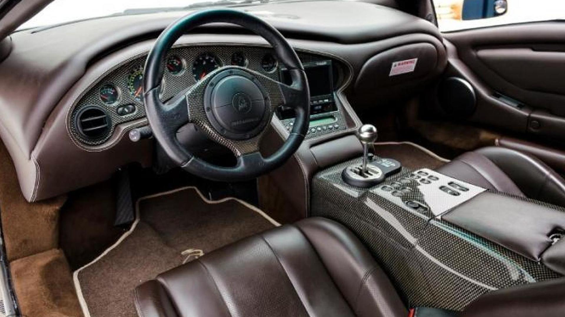 Кожаный салон Lamborghini Diablo 6.0 SE