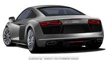 2015 Audi R8 rendering / Marco van Overbeeke