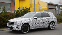 Mercedes-Benz GLC 63 AMG makes spy photo comeback