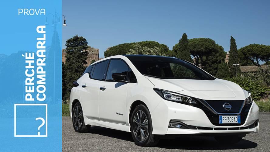Nissan Leaf, perché comprarla... e perché no