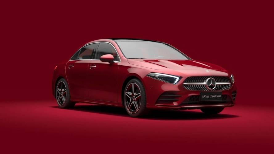 Mercedes A-Serisi Sedan LWB ortaya çıktı
