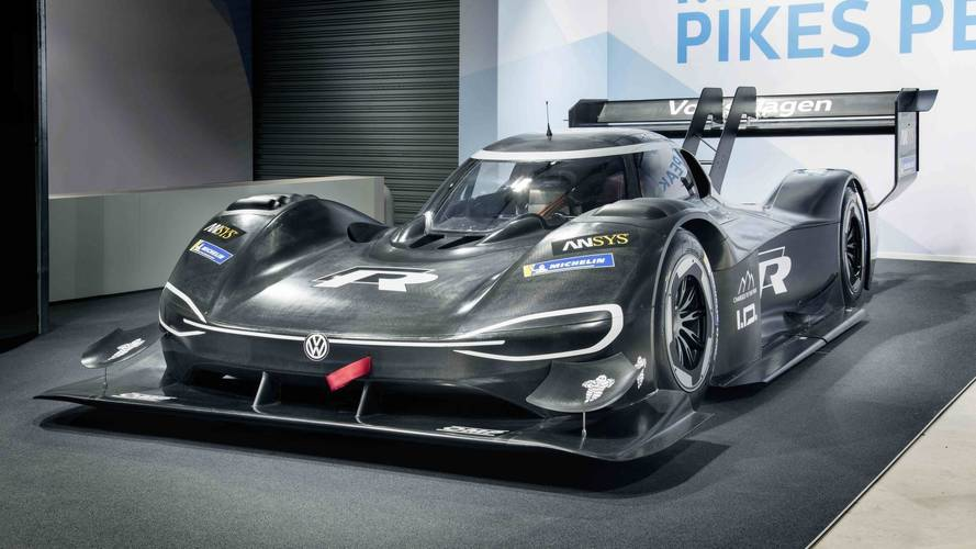 VW goes electric for Pikes Peak - New 500kW ID R racer unveiled