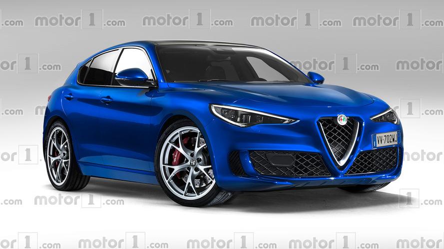 Alfa Romeo Giulietta render'ları, sizi 2022'nin ötesine taşıyacak