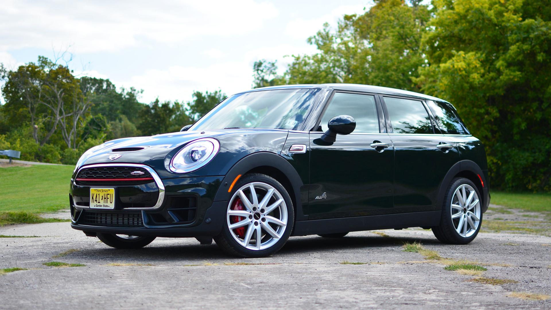 2017 mini john cooper works clubman review the premium hot wagon. Black Bedroom Furniture Sets. Home Design Ideas
