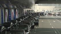 Tesla Taxi Fleet In Dubai